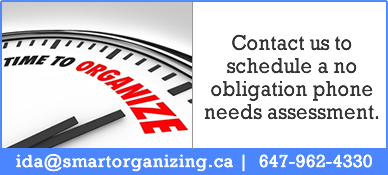 Contact Smart Organizing Today