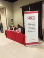SMART Organizing was at the MS Society of Canada, Peel-Dufferin Chapter Lifestyle Improvement and Resource Fair