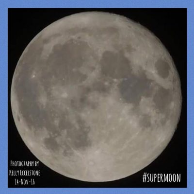 Supermoon Inspires SMART Organizing Goals!